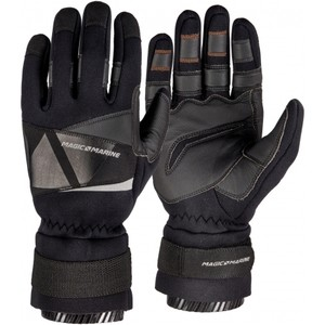 2020 Magic Marine Frost Winter Sailing Gloves - Black