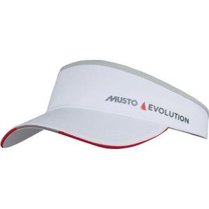 2021 Musto Evolution Race Visor White AS0790