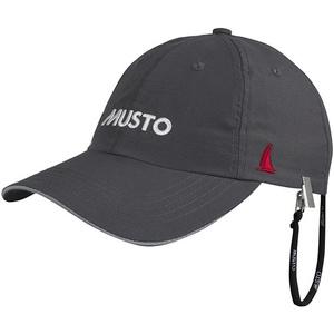 2021 Musto Fast Dry Crew Cap Charcoal AL1390