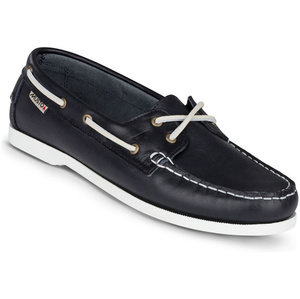2019 Musto Womens Harbour Moccasin Deck Shoes True Navy FWFT002
