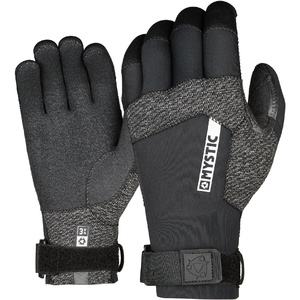 2019 Mystic Marshall 3mm Precurved Glove 200046 - Black