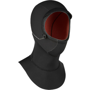 2019 Mystic Marshall Long 3mm Neoprene Hood 200030 - Black
