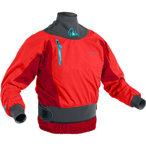 2020 Palm Womens Zenith Whitewater Jacket Flame Red 12390