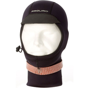 2019 Prolimit Neoprene Hood Xtreme with Visor Black 10130