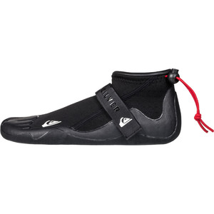 2021 Quiksilver Syncro 2mm Round Toe Reef Boots Black EQYWW03040