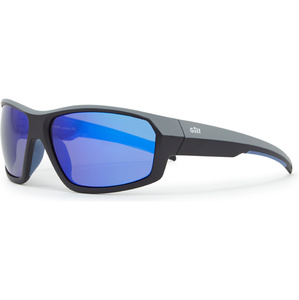 2021 Gill Race Fusion Sunglasses Blue Mirror RS26