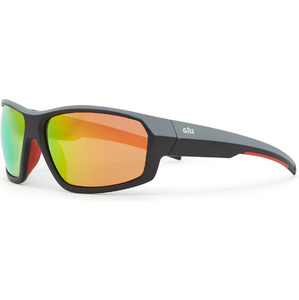 2021 Gill Race Fusion Sunglasses Tango / Orange Mirror RS26