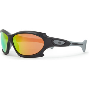 2021 Gill Race Ocean Sunglasses Black / Orange RS27