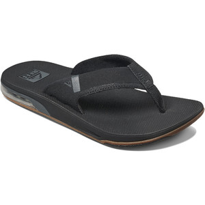 2020 Reef Mens Fanning Low Flip Flops / Sandals RF0A3KIH - Black