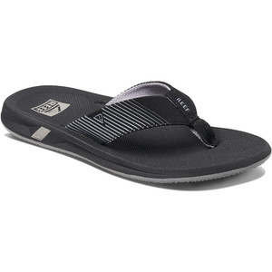 2020 Reef Mens Phantom II Flip Flops / Sandals RF0A3YMH - Black