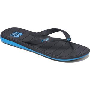 2021 Reef Switchfoot LX Flip Flops RF0A2YFU - Black / Blue