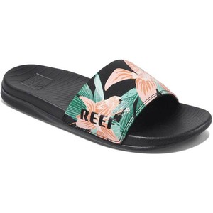 2020 Reef Womens One Slide Sandals RF0A3YN7 - Hibiscus