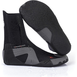 2020 Rip Curl Dawn Patrol 5mm Round Toe Neoprene Boots BLACK WBO7CD
