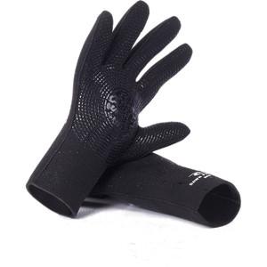 2020 Rip Curl Dawn Patrol 3mm Gloves WGLYBM - Black