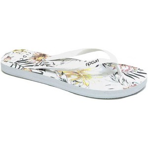 2020 Rip Curl Womens Coastal Palms Flip Flops TGTF06 - White