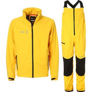 2019 Slam WIN-D Sailing Jacket & Trouser Combi Set - Yellow