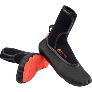 2021 Solite Custom 8mm Wetsuit Boots 20014 - Black / Red