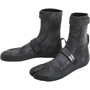 2020 Billabong Revolution 3mm Split Toe Boots U4BT23 - Black Tie Dye