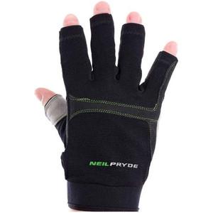 Neil Pryde Regatta Half Finger Sailing Gloves Black 630544