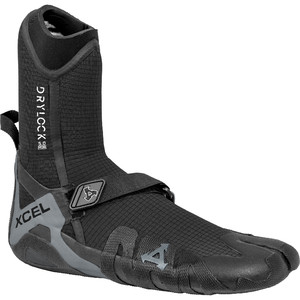 2021 Xcel Drylock 5mm Split Toe Boots ACV59019 - Black / Grey