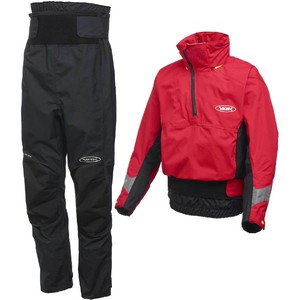 2020 Yak Apolo Kayak Touring Cag & Chinook Trouser Combi Set - Red / Black