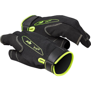 2021 Zhik G1 Long Finger Sailing Gloves Black GLV0015