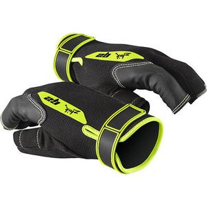 2020 Zhik G2 Half Finger Sailing Gloves Black 0020