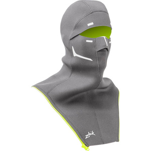 2020 Zhik Isotak X Neoprene Zip On Balaclava Grey BLC1100