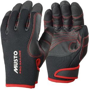 2021 Musto Performance Winter Long Finger Gloves BLACK AS0594