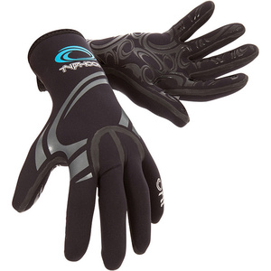 2019 Typhoon Kona 1.5mm GBS Neoprene Gloves Black 310310
