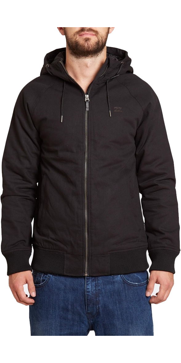 Billabong All Day Canvas Jacket BLACK Z1JK10