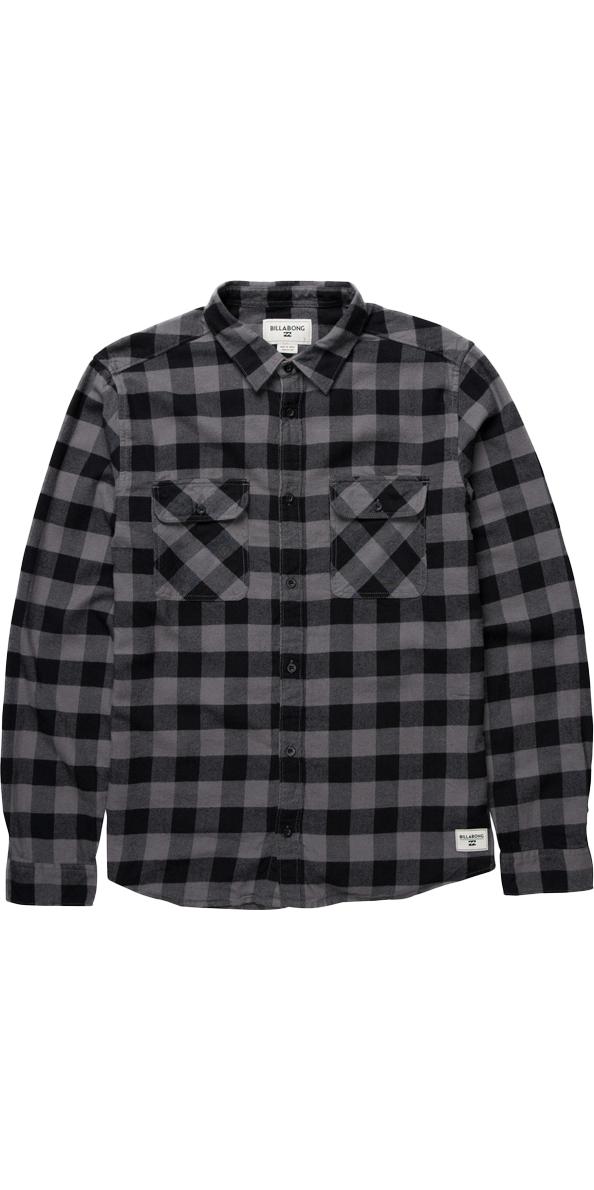 2016 billabong all day flannel shirt black z1sh04 z1sh04