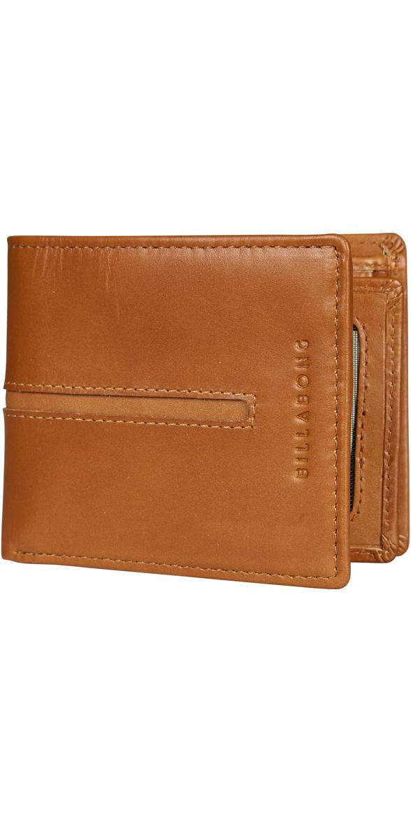 Billabong Empire Leather Wallet TAN Z5LW02