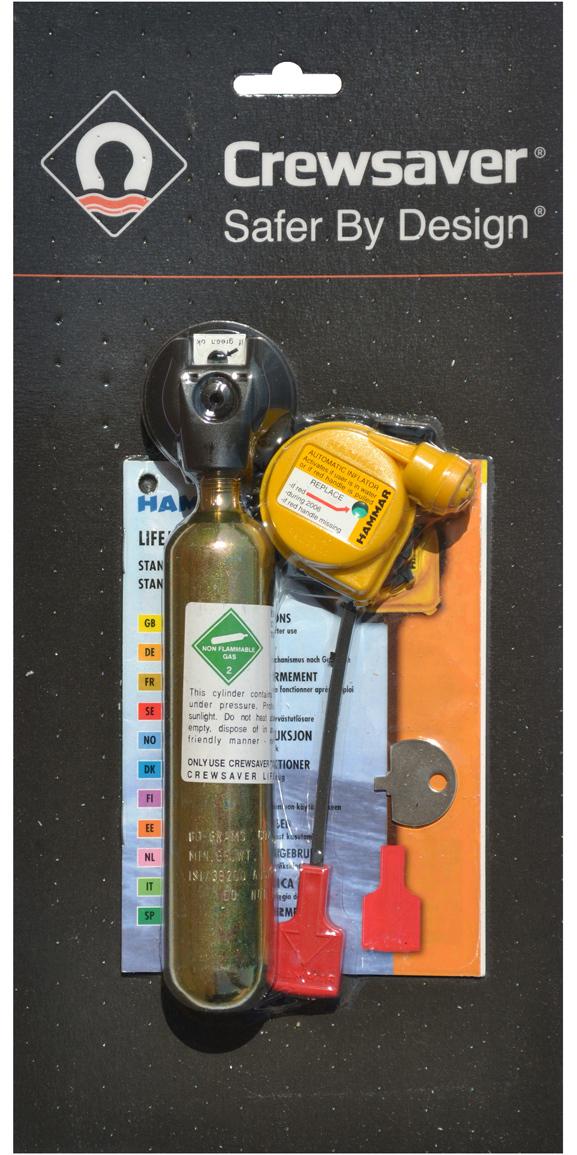 2019 Crewsaver 60g 275n Hammar Lifejacket Re-arming Pack 11011