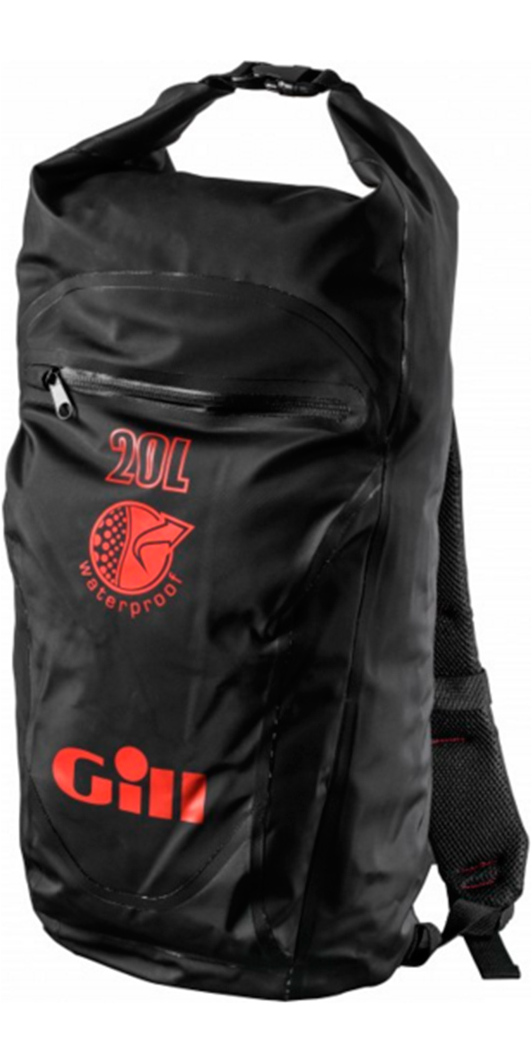 2017 Gill 20L Waterproof Back Pack Jet Black L073 - L056 - Dry ...