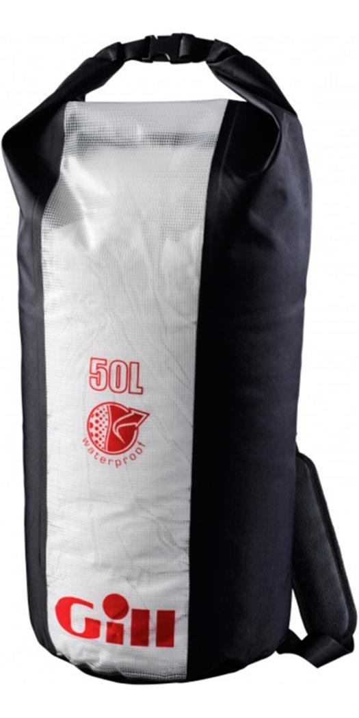 2017 Gill Dry Cylinder 50LTR Bag L056 Jet Black - L056 - Dry Bags ...