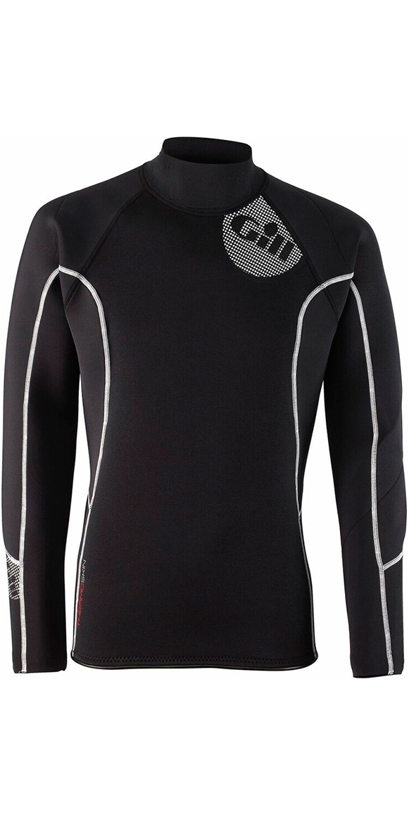 2019 Gill Mens 2 5mm Thermoskin Long Sleeve Neoprene Top Black 4616 - 4616  - Mens Neoprene Tops  79dbde1fe2c