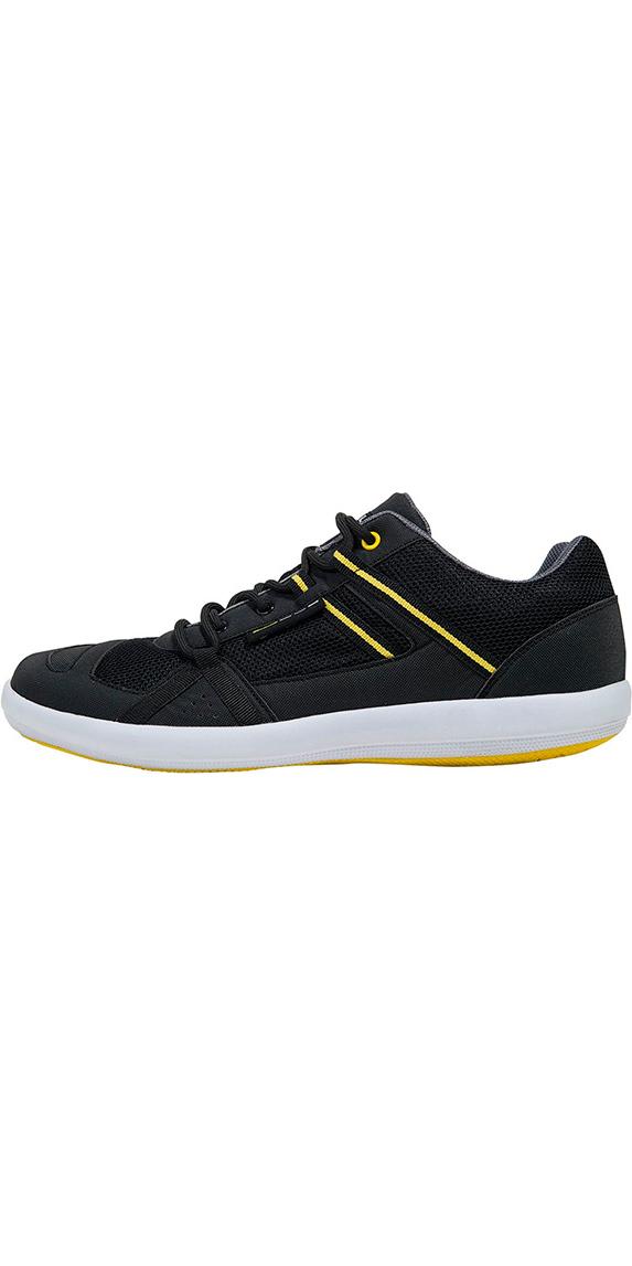 2018 Gul Aqua Grip SUP Shoe Black / Yellow DS1004-A9
