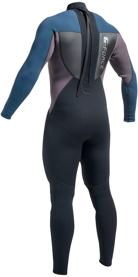 a9a777cdc8 2019 Gul G-Force 3mm Mens Wetsuit Black   Navy GF1305-A9 .