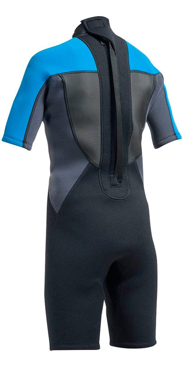 Gul G-Force Junior 3/2mm Shorty Wetsuit in Black / Zaffer GF3307-A9
