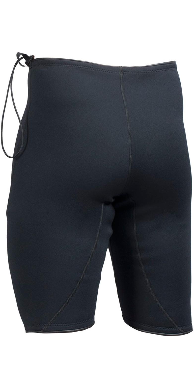 2019 Gul Neoprene 2mm T2 Shorts Black RE8302-A6