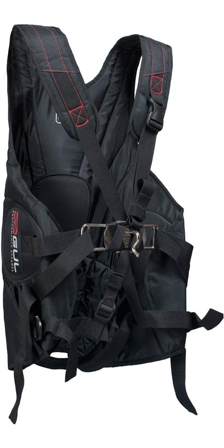 2019 Gul Stokes Trapeze Harness in Black GM0225