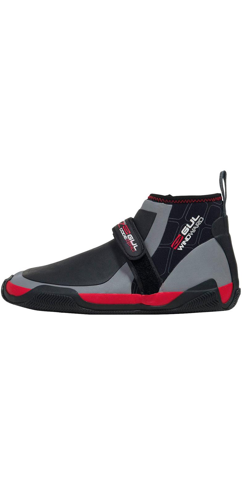 2019 Gul Windward CZ 5mm Master Hike Wetsuit Shoe Black / Grey BO1298