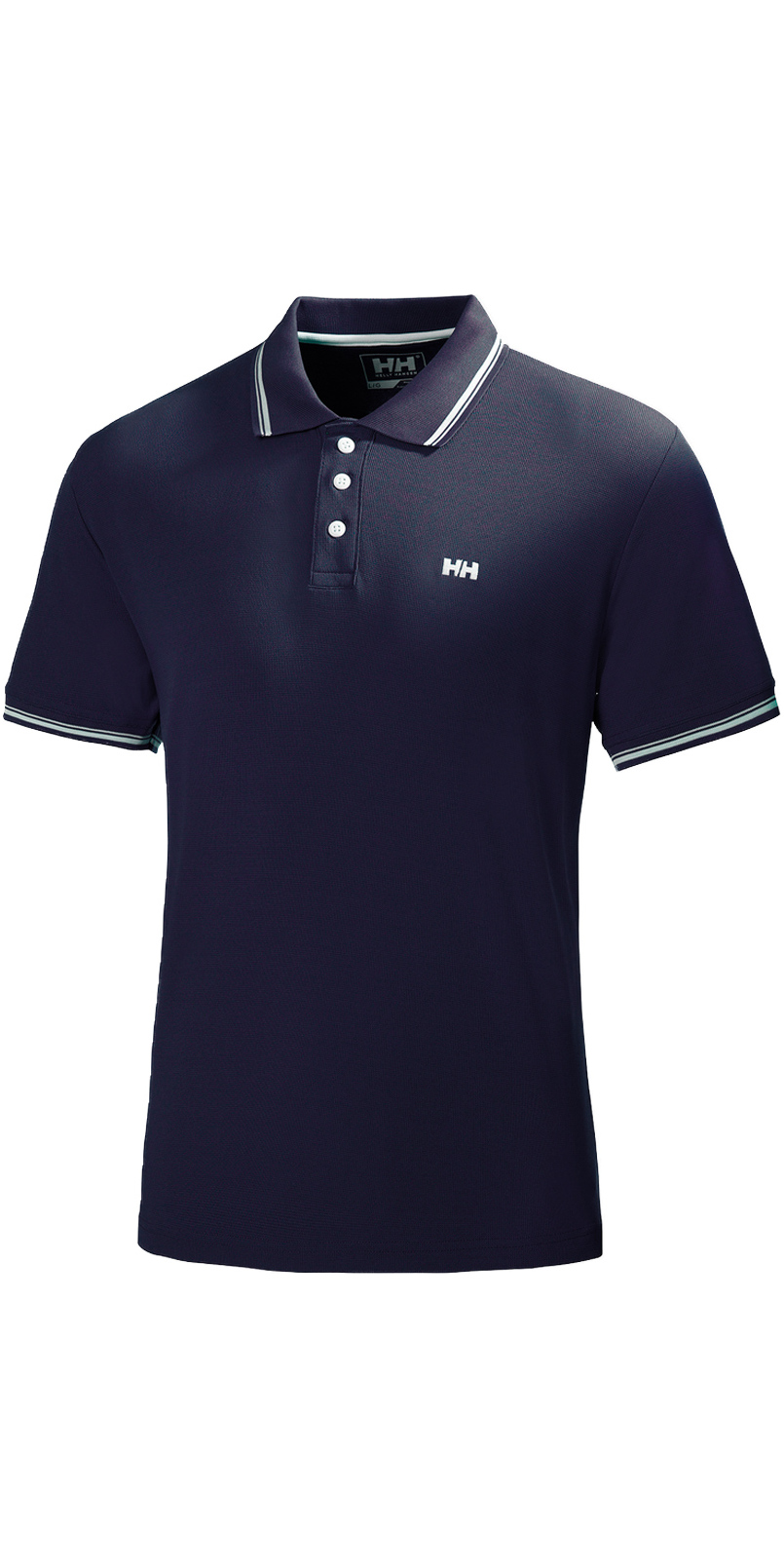 70ba29fc 2019 Helly Hansen Kos Short Sleeve Polo in Navy 50565 - T-shirts - Mens -  Fashion - by Helly | Wetsuit Outlet