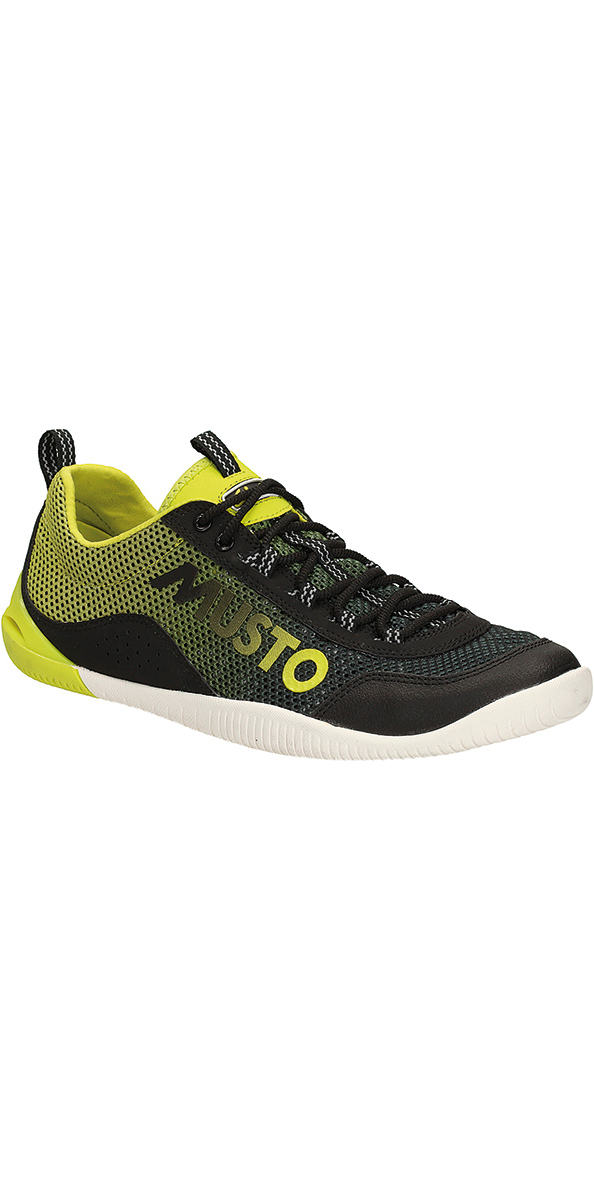 Musto Dynamic Pro Race Shoe Black / Lime FS0170/80