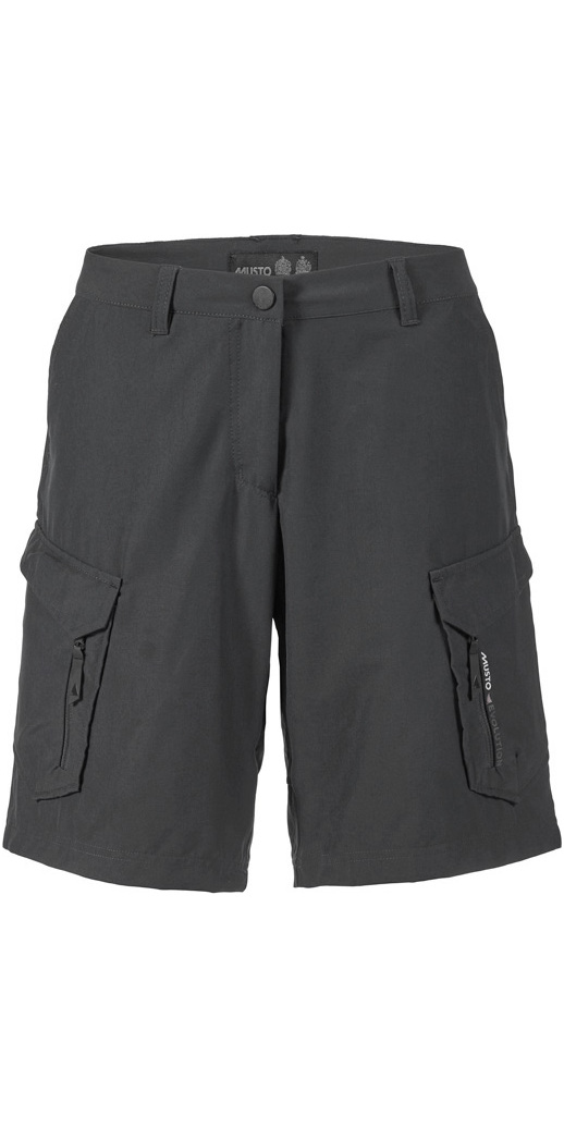Musto Womens Essential UV Fast Dry Shorts Offer Carbon & Platinum