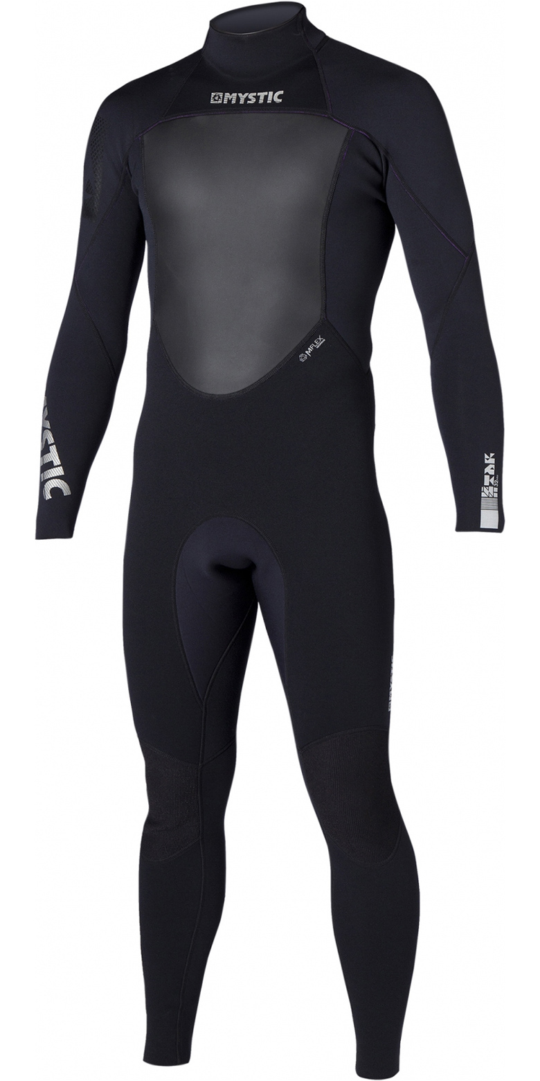 2017 Mystic Star 4/3mm GBS Sealed Seam Wetsuit BLACK 140045
