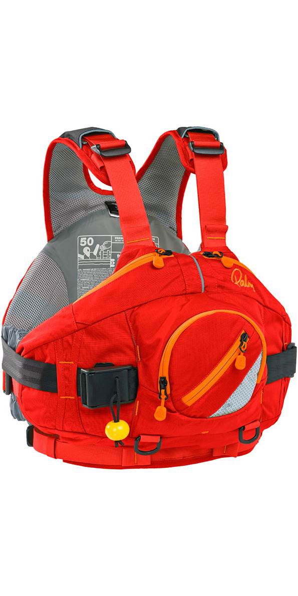 2019 Palm AMP Whitewater Buoyancy Aid RED 11727