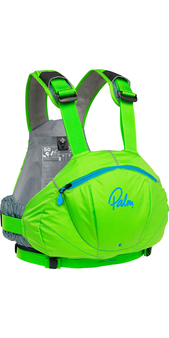2019 Palm FX Whitewater / River PFD in Lime 11729