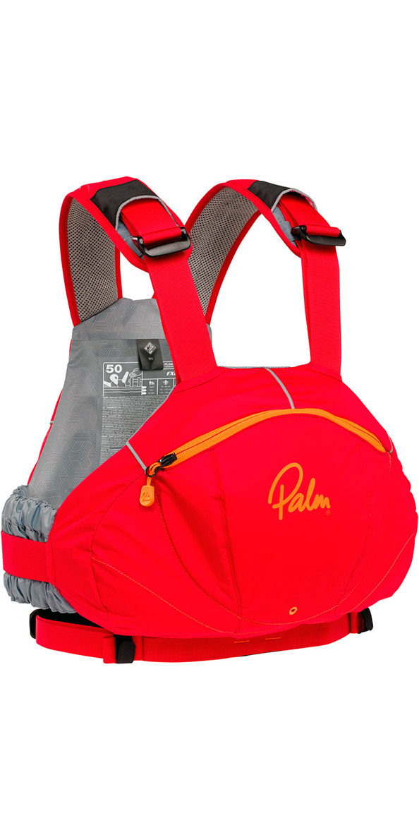 2020 Palm FX Whitewater / River PFD in Red 11729
